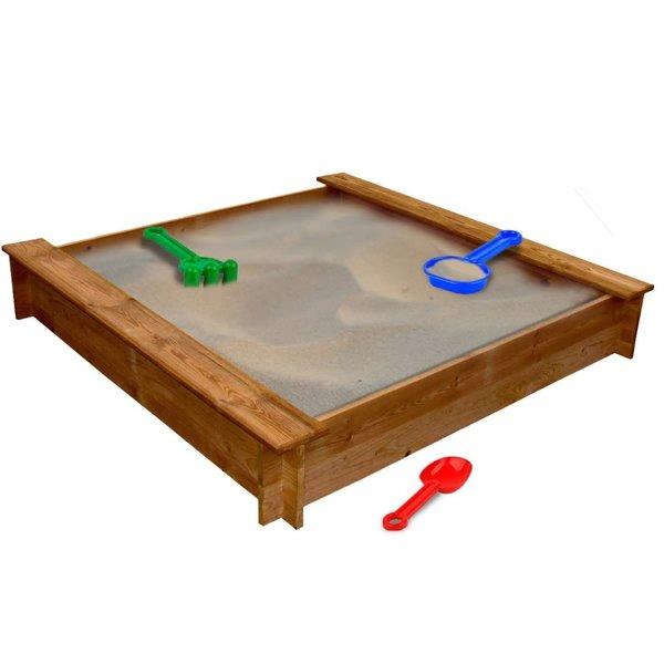 Zandbak vierkant FSC hout