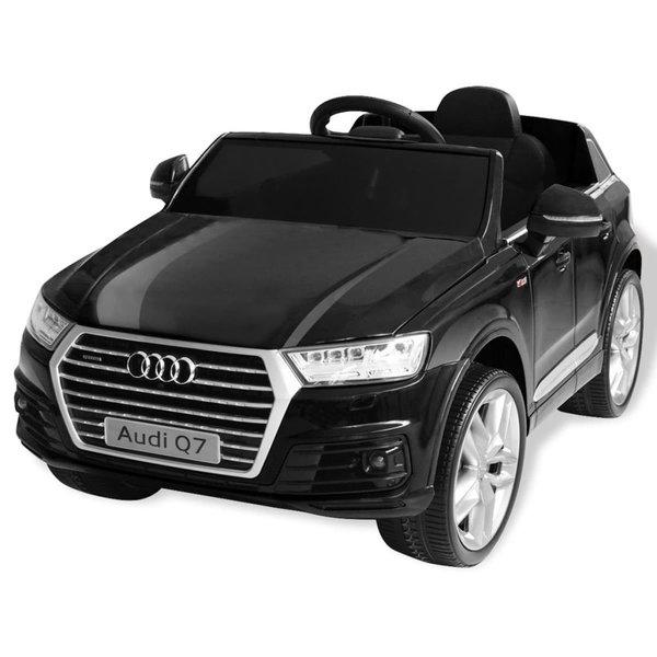 Elektrische speelgoedauto Audi Q7 6 V zwart