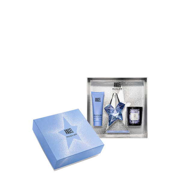 Thierry Mugler Angel Giftset  25ml/Bpdy Lotion 50ml/Candle 70gr