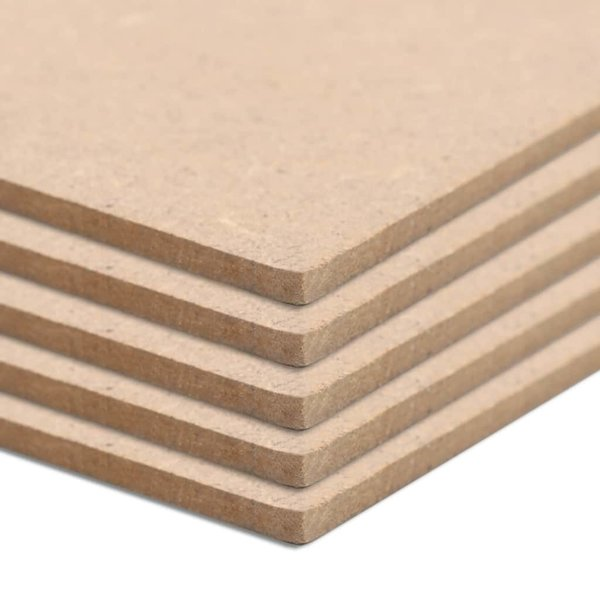 MDF platen vierkant 60x60 cm 2,5 mm 20 st