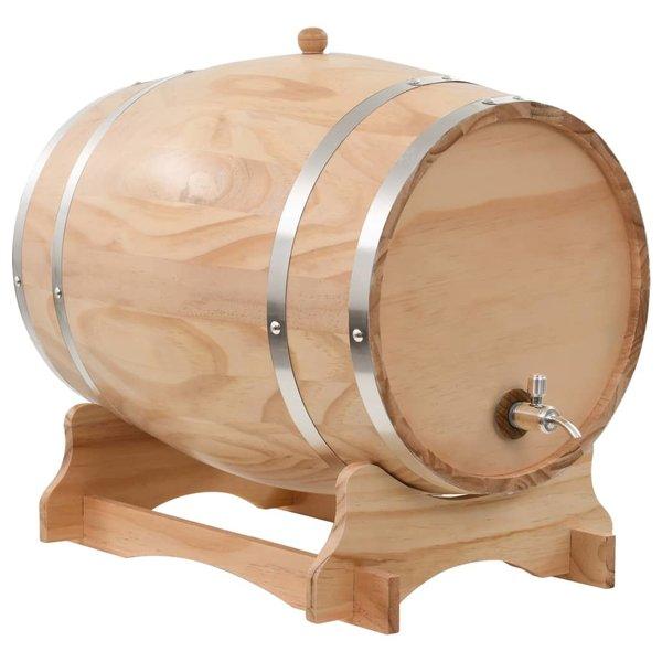 Wijnvat met kraantje 35 L massief grenenhout