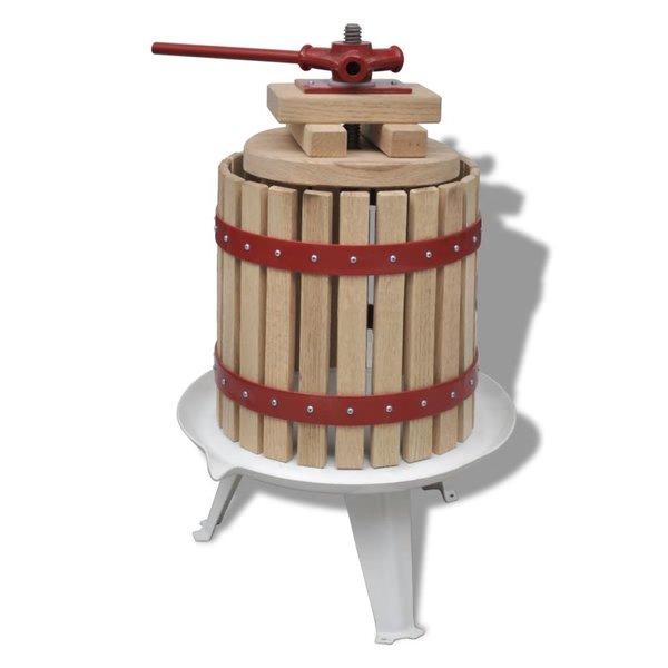 Fruit- en wijnpers 12L