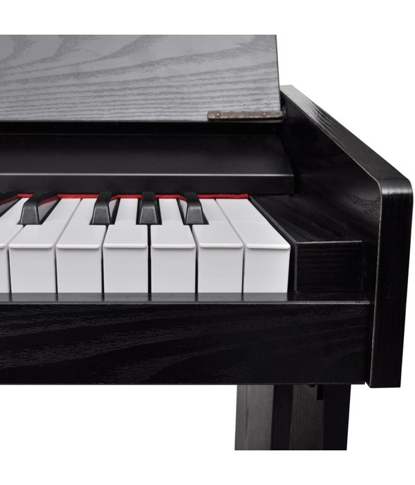 vidaXL Elektronische/Digitale piano met 88 toetsen en bladhouder