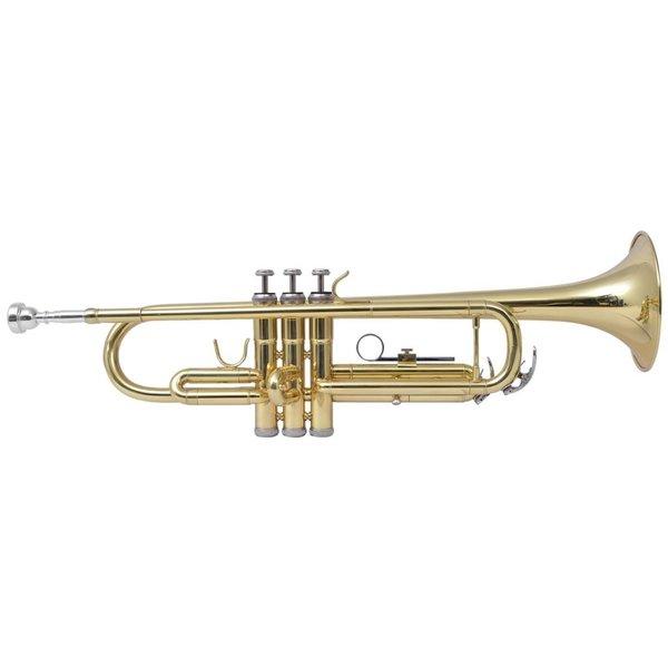 Trompet messing met goudlak Bb