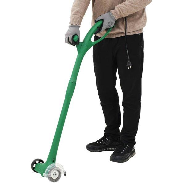 Onkruidborstel elektrisch 140 W groen