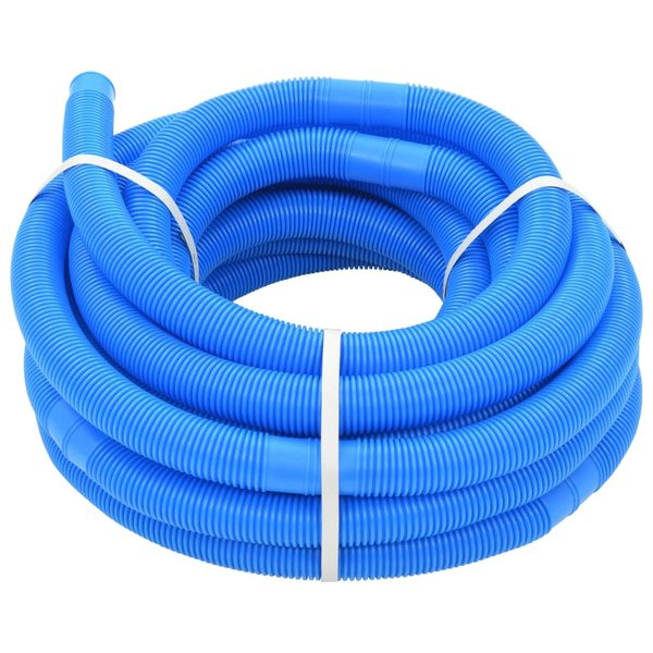 Zwembadslang 32 mm 15,4 m blauw