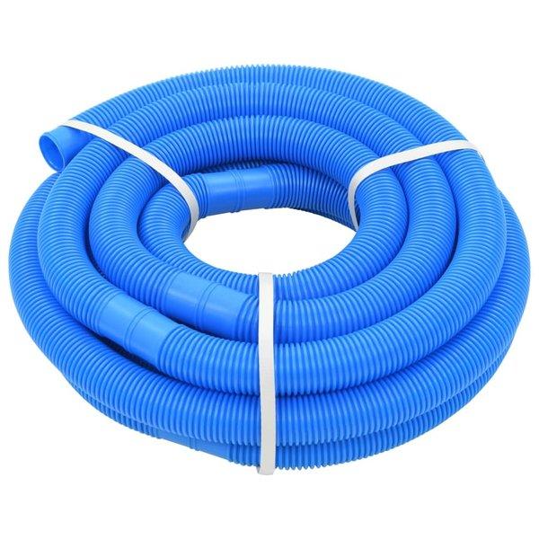 Zwembadslang 38 mm 9 m blauw