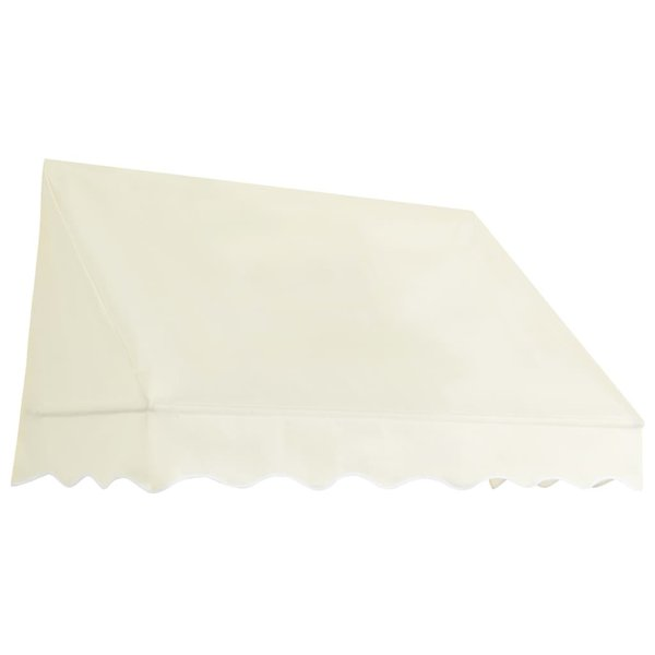 Luifel 150x120 cm crèmekleurig