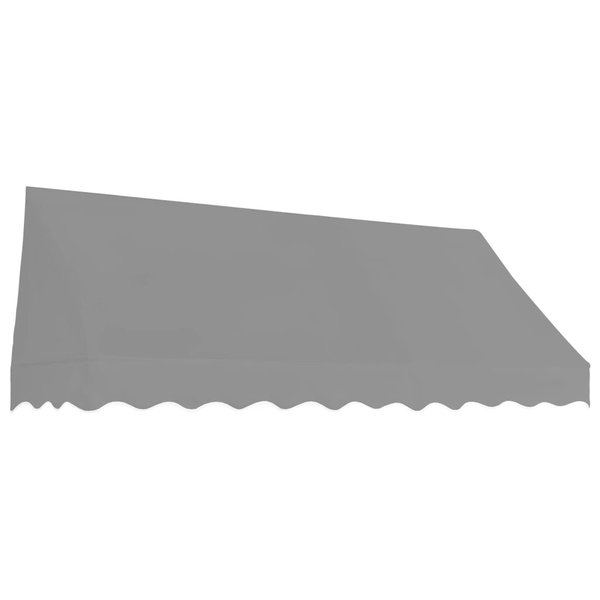 Luifel 250x120 cm antraciet