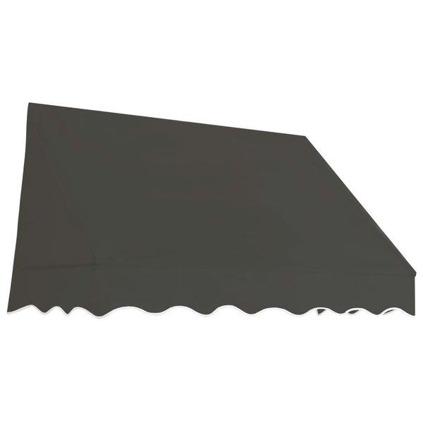 Luifel 150x120 cm antraciet