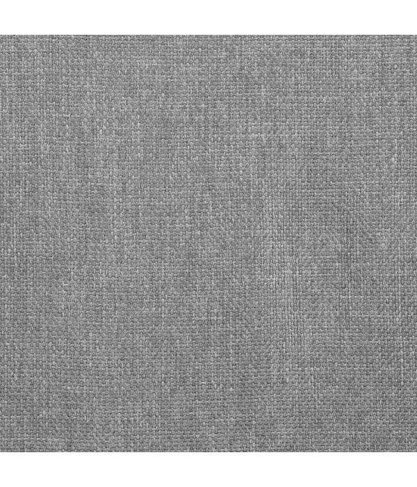 vidaXL Eetkamerstoelen 6 st draaiend stof donkergrijs
