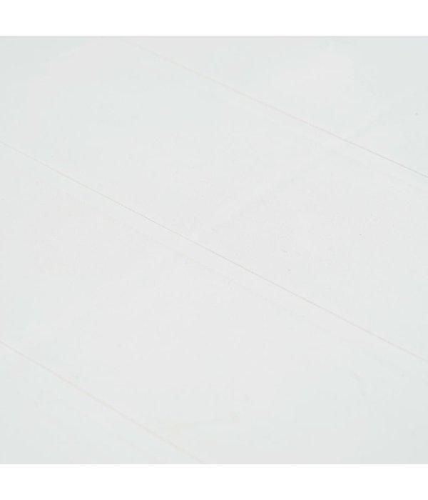 vidaXL 7-delige Tuinset rattan-look kunststof wit