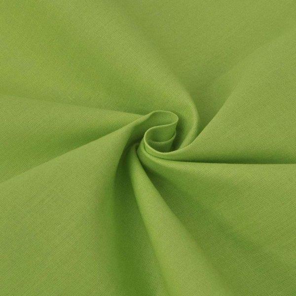 Stof katoen 1,45x20 m groen