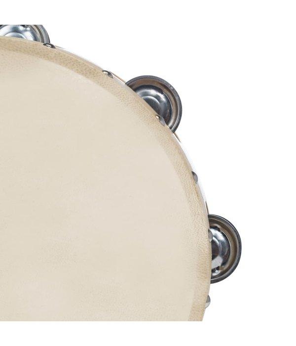 vidaXL 3-delige Tamboerijnset hout en natuurlijke huid