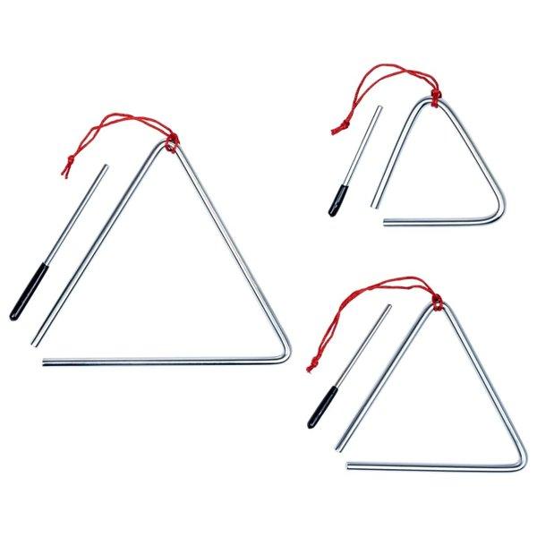 3-delige Triangelset roestvrij staal