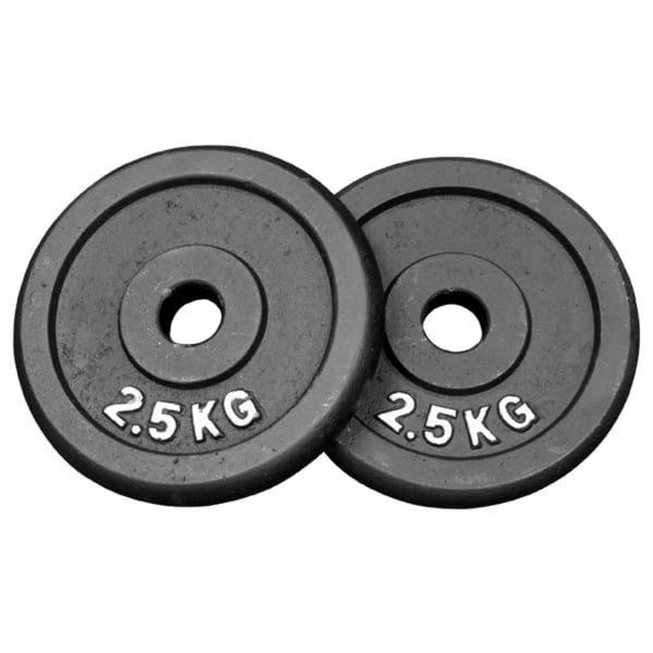 Gewichten 2 x 2,5 kg (Ø30 mm)