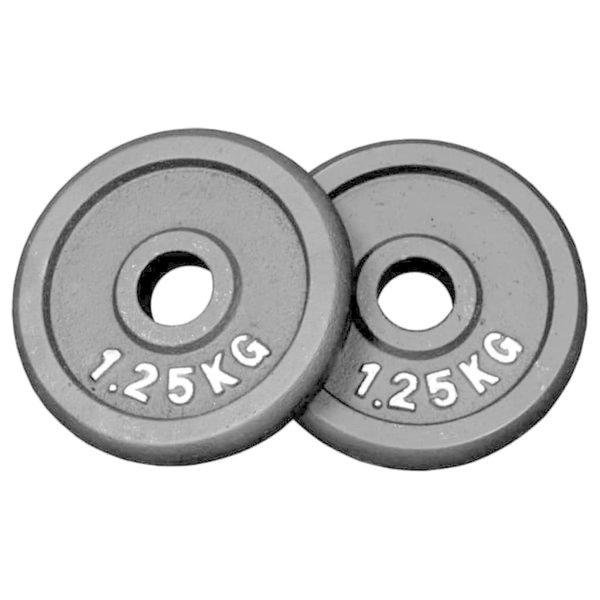 Gewichten 2 x 1,25 kg (Ø30 mm)