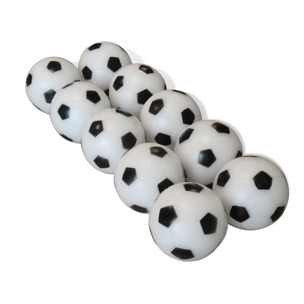10 ballen voor voetbaltafel 32 mm