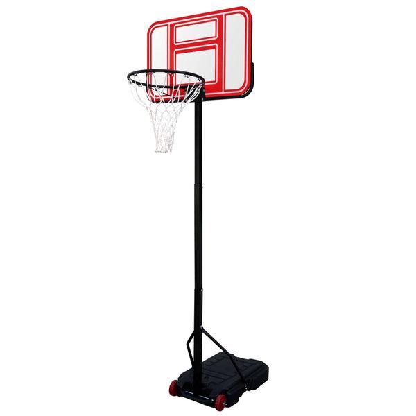 Basketbal standaard verrijdbaar 196 - 254 cm