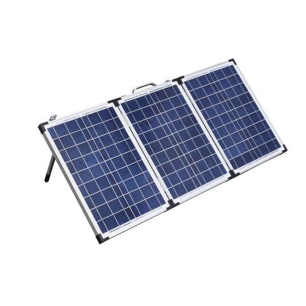 Solarkoffer 18V / 60W met 12V laadregelaar