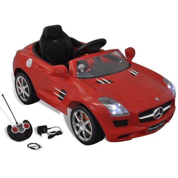 80092 Mercedes Benz Speelgoedauto met afstandsbediening (Rood)