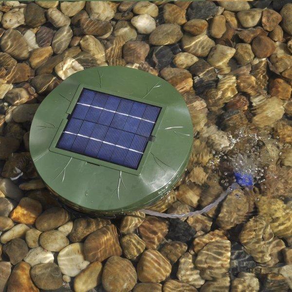 Vijverbeluchter op zonne-energie 1,8 W