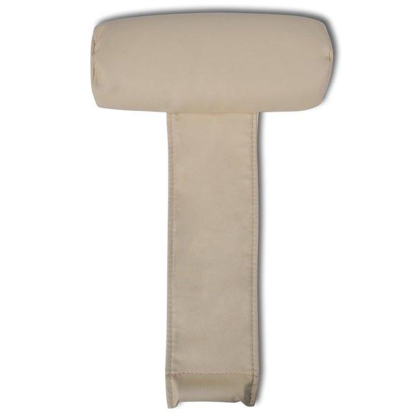 Hoofdsteun voor stoelen (beige)
