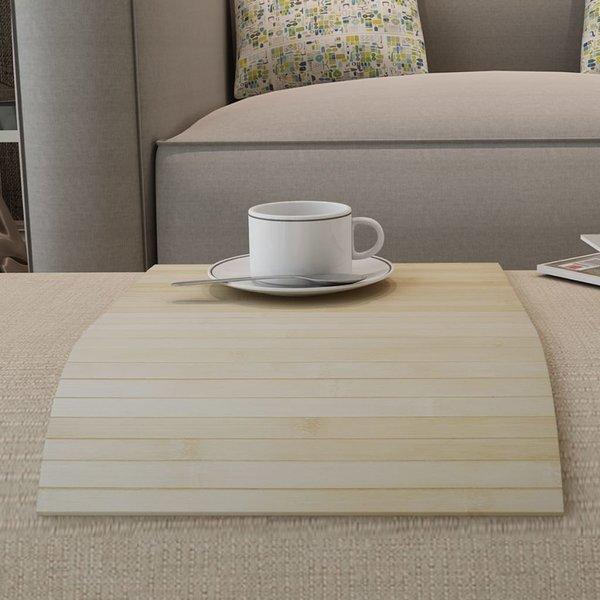Bamboe Tafelloper 60 x 40 cm (2 st) (licht naturel)
