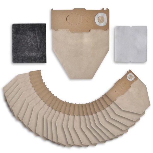 Stofzuigerzakken + Filters voor Vorwerk Kobold 130, 131 (25 stuks)