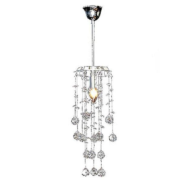 Hanglamp met 80 glas kristallen 34 cm
