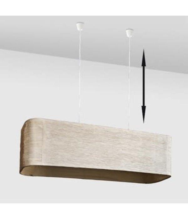 vidaXL Hanglamp van papier