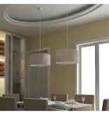 vidaXL Hanglamp rond (set van 2)