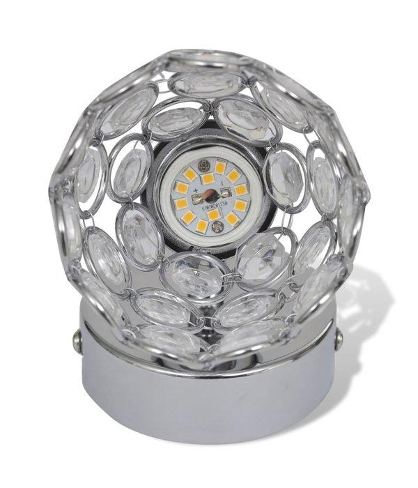 vidaXL Kristal LED spot met ingebouwde 1 x 4 W LED lampen