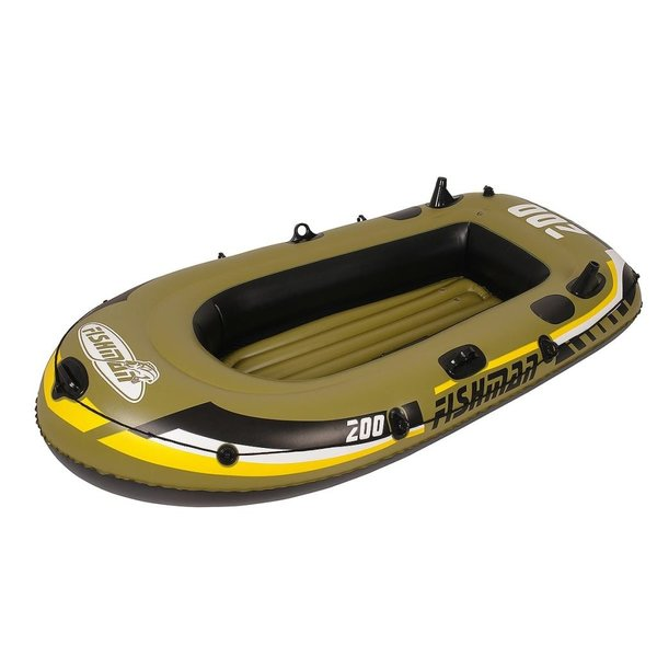 Opblaasboot Fishman Deluxe set 200