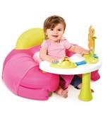 Cotoons Opblaaszitje met speelblad roze 110211