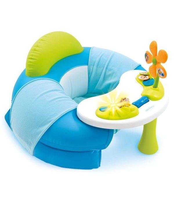 Cotoons Opblaaszitje met speelblad blauw 110210