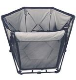 B-Foldable Babybox 120x75x140 cm grijs B700400