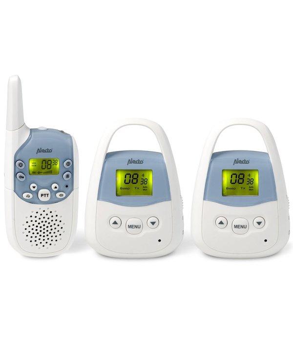 Babyfoon voor lange afstand DBX-82+83 wit en blauw
