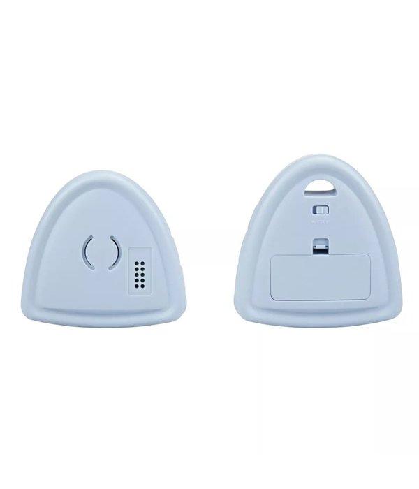 Babyfoon DVM-65 wit en blauw