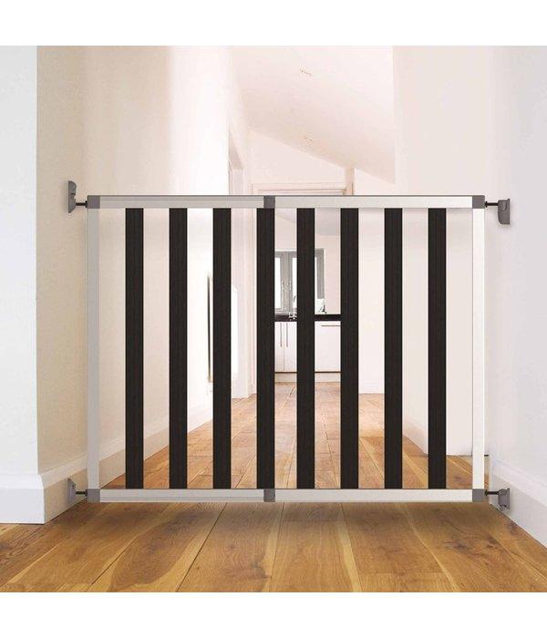 Traphekje Ikon Noir 62-104 cm aluminium zwart 94085