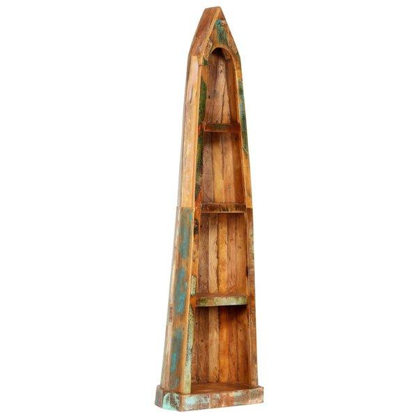 Boekenkast 50x40x180 cm massief gerecycled hout