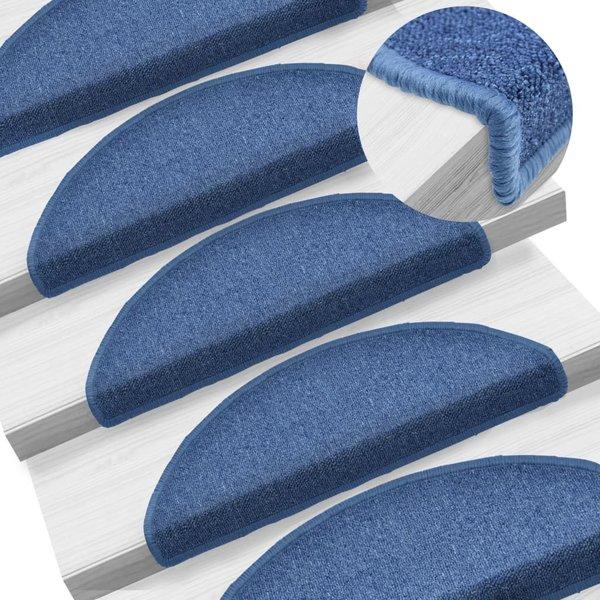 15 st Trapmatten 65x24x4 cm blauw