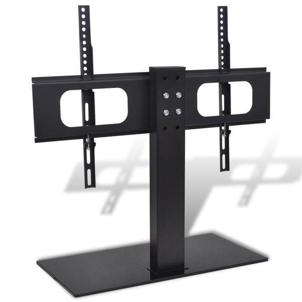 """Tv-beugel met basis 600x400 mm 32""""-70"""" ijzer zwart"""