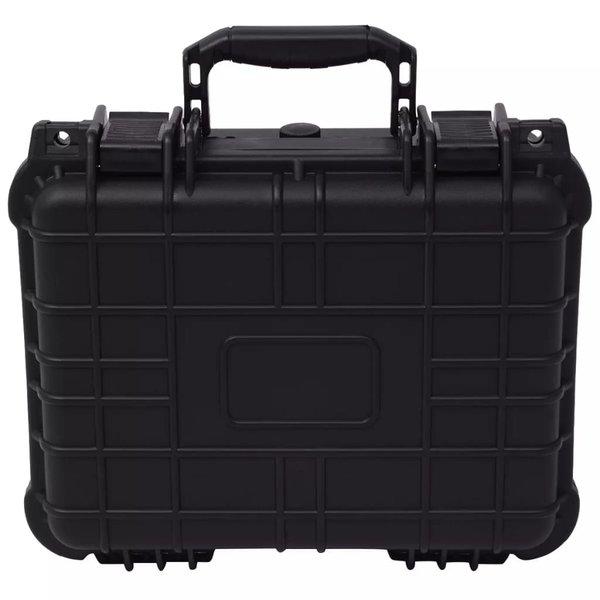 Beschermingskoffer 35x29,5x15 cm zwart