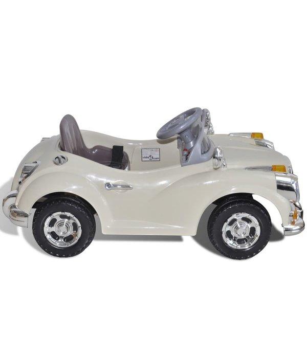 vidaXL Speelgoedauto op batterijen (Beige)