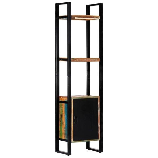 Boekenkast 45x30x171 cm massief gerecycled hout