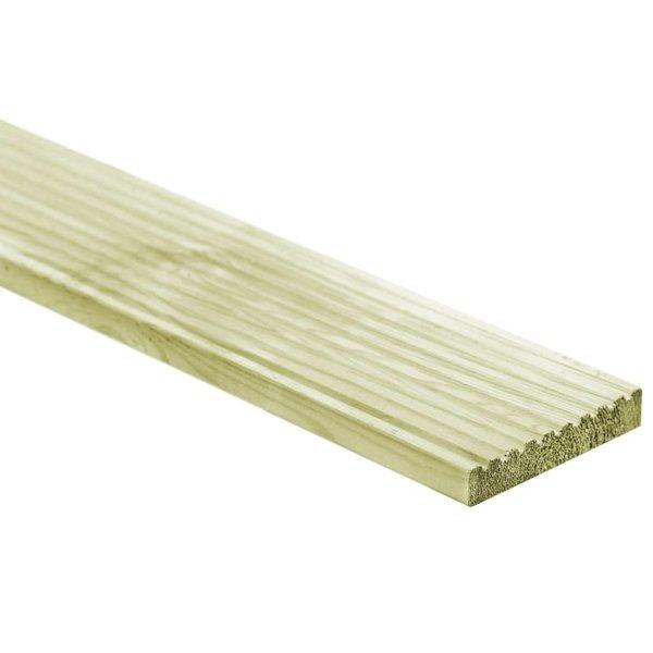 12 st Terrasplanken 150x14,5 cm FSC hout