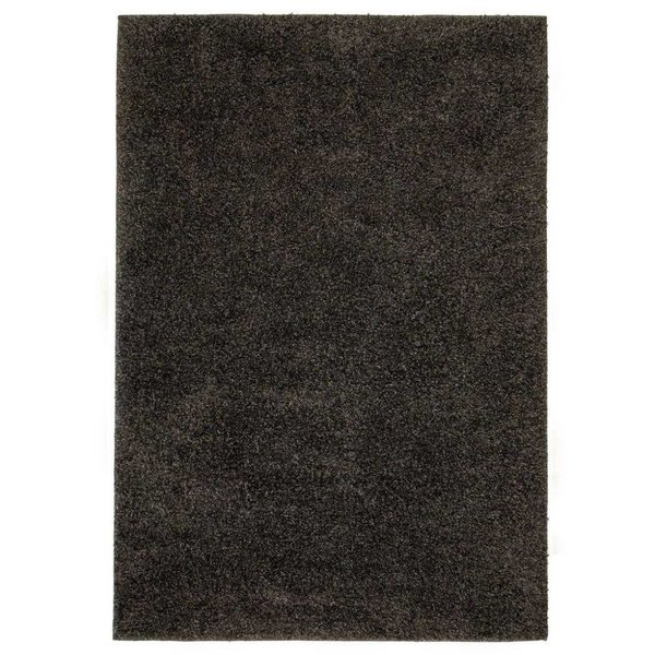 Vloerkleed shaggy hoogpolig 140x200 cm antraciet - Reourdeal