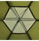 vidaXL Tent 6 personen groen - Retourdeal
