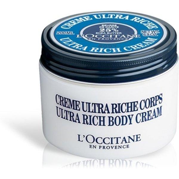 L'Occitane Shea Butter Ultra Rich Body Cream 200 ml